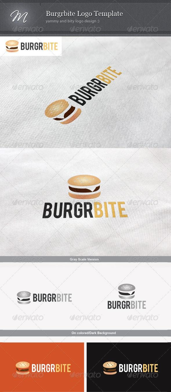 Burgrbite Logo Template - Food Logo Templates