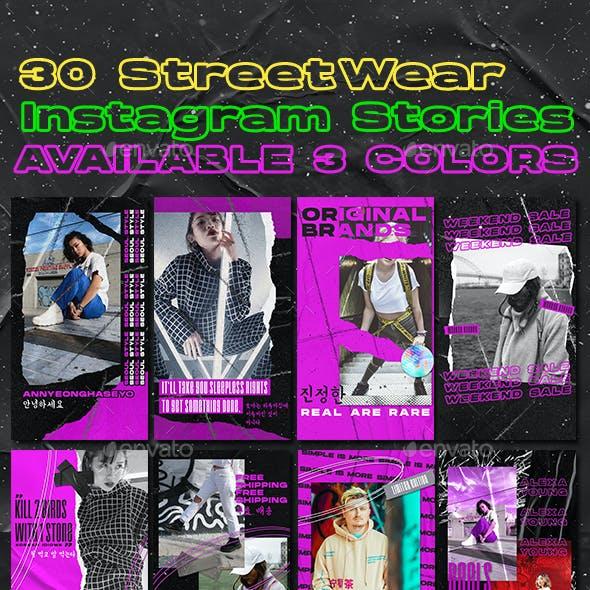 30 Korean Streetwear Instagram Stories