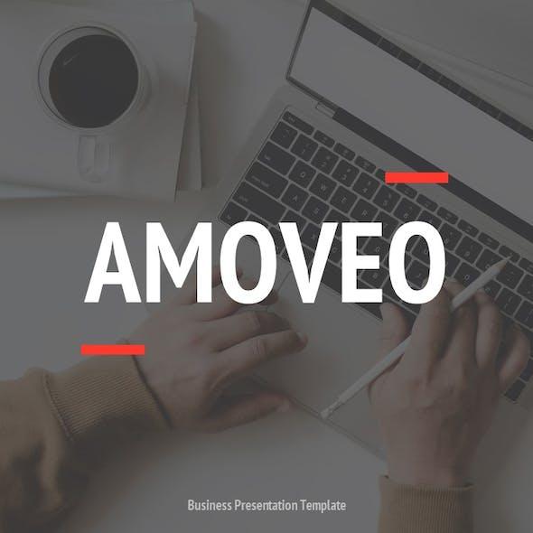 Amoveo - Marketing Powerpoint Template
