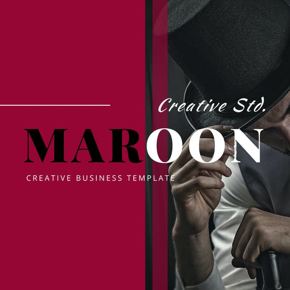 Marron – Creative Business PowerPoint Template