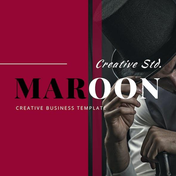 Marron – Creative Business PowerPoint Template