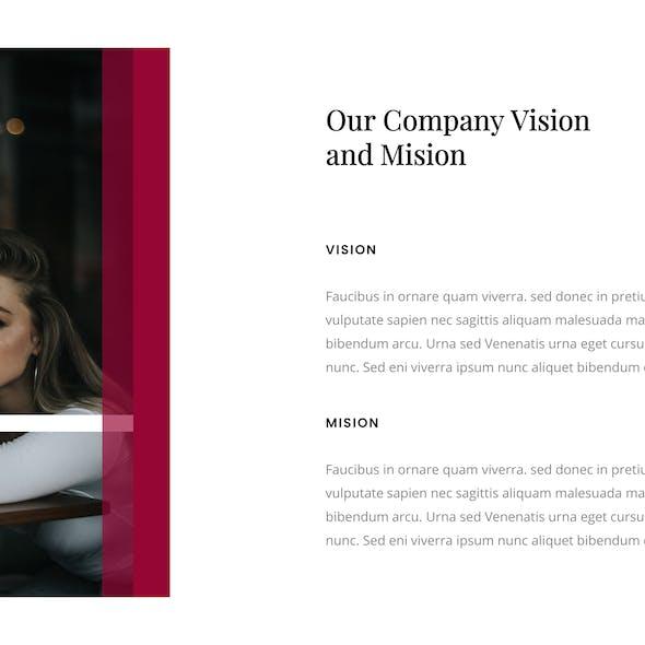 Maroon – Creative Business Keynote Template