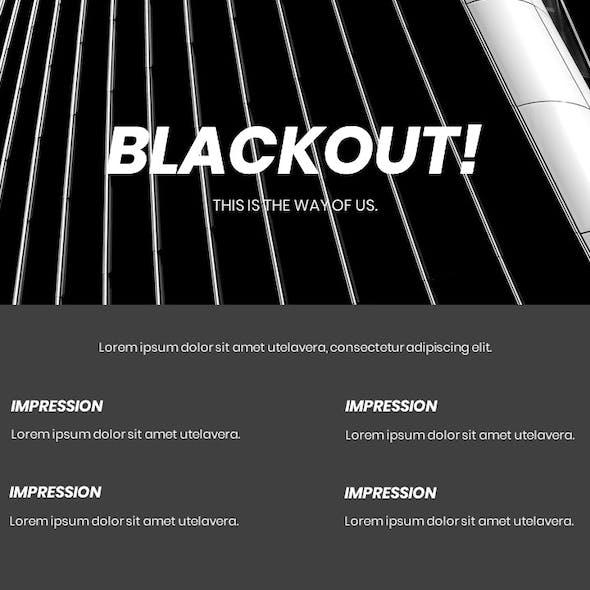 Blackout - Creative Business Presentation