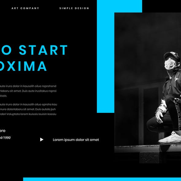 Proxima – Business PowerPoint Template
