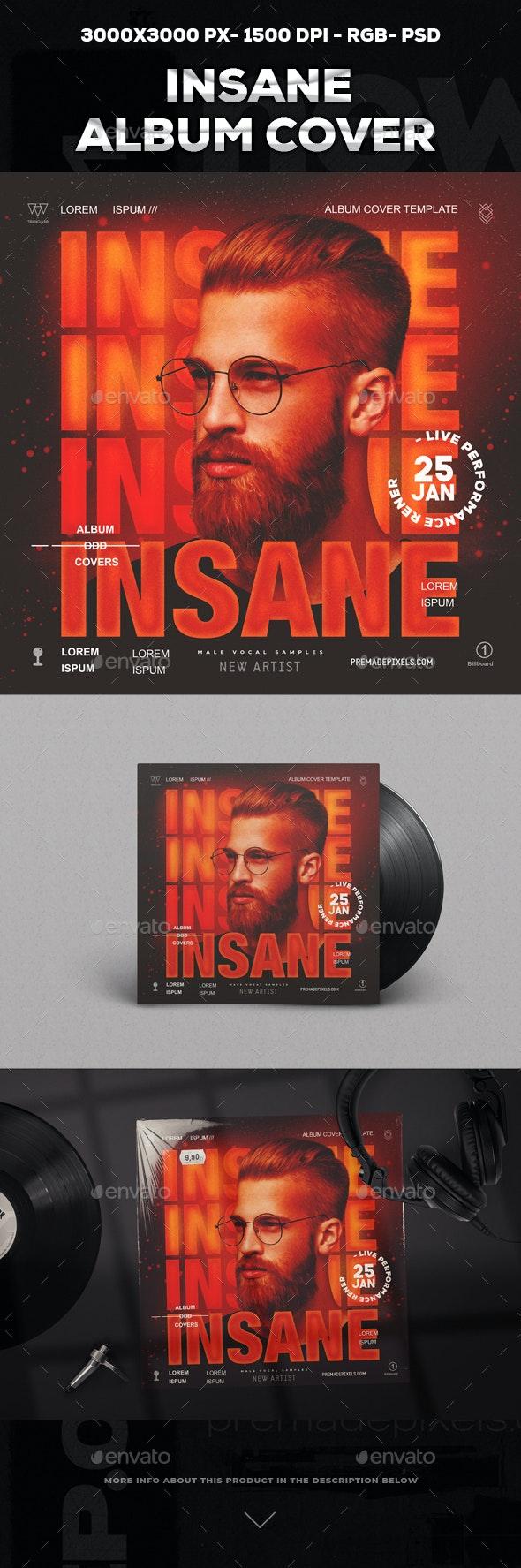 Insane Album Cover Template - Miscellaneous Social Media