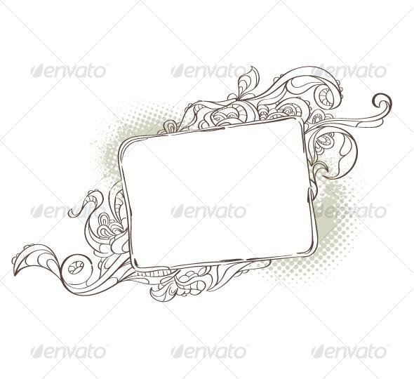 Bizarre background for your text - Decorative Vectors