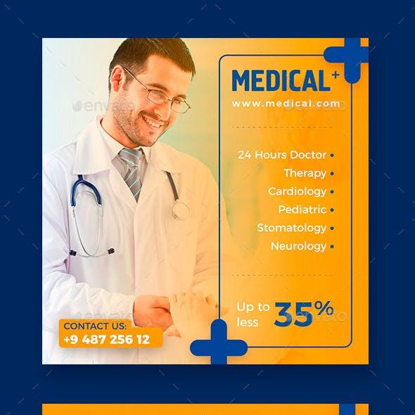 Medical Instagram Banner