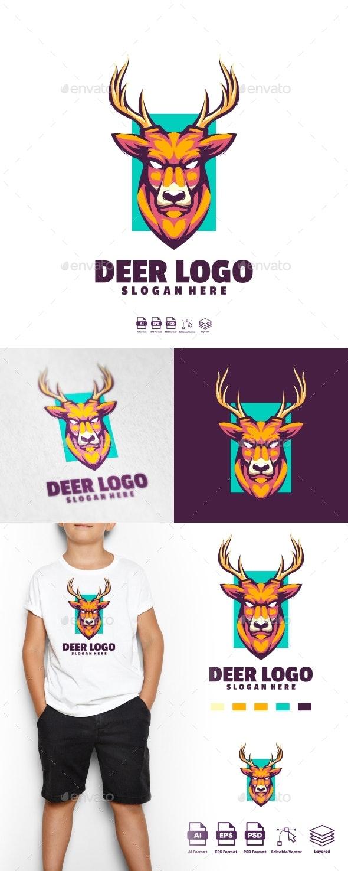 Deer logo Templates - Logo Templates