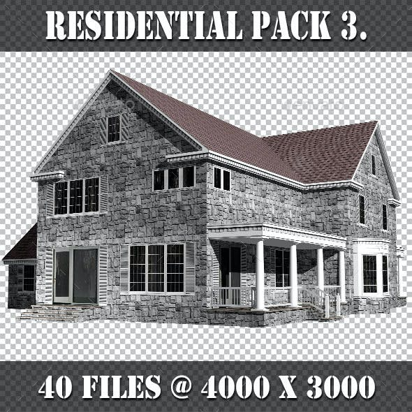 Residential Houses Pack 3.