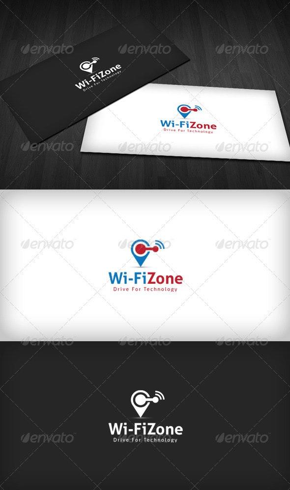 Wifi Zone Logo - Objects Logo Templates