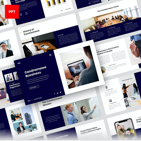 Candramawa Business Powerpoint Template