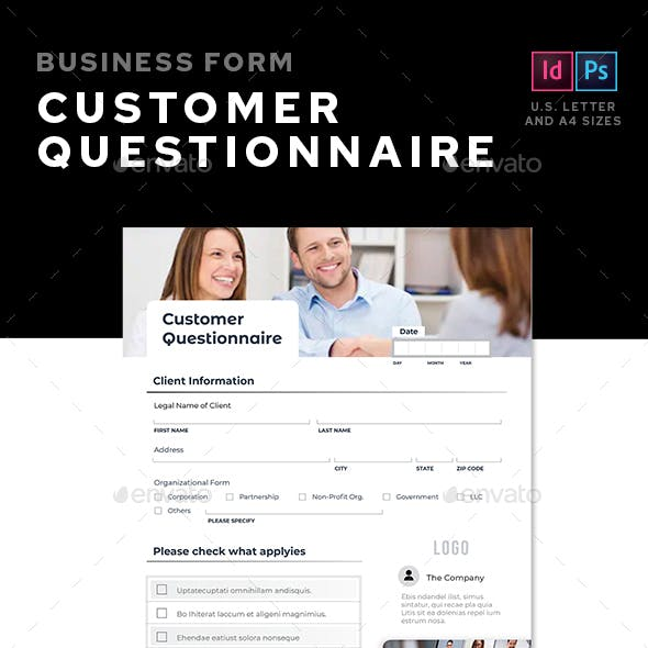 Customers Questionnaire
