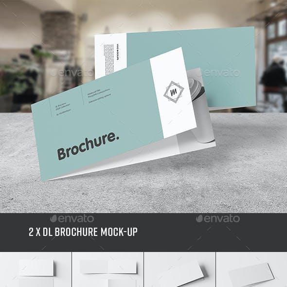 Bi-Fold DL Brochure Mock-up 2