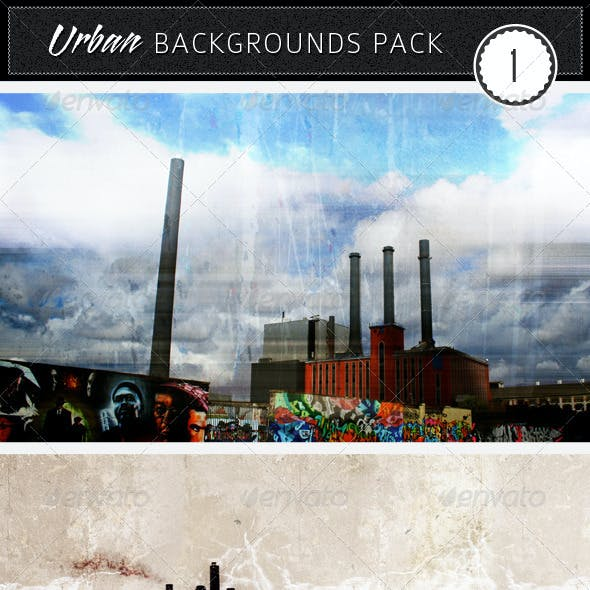 Urban Backgrounds Pack 1