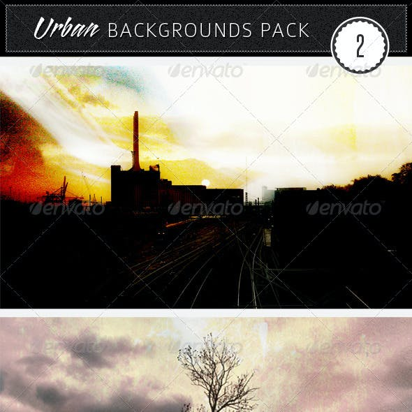 Urban Backgrounds Pack 2