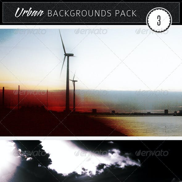 Urban Backgrounds Pack 3