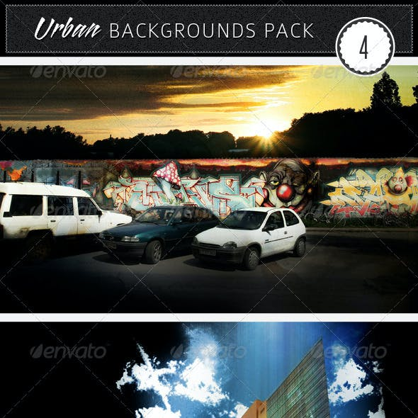 Urban Backgrounds Pack 4