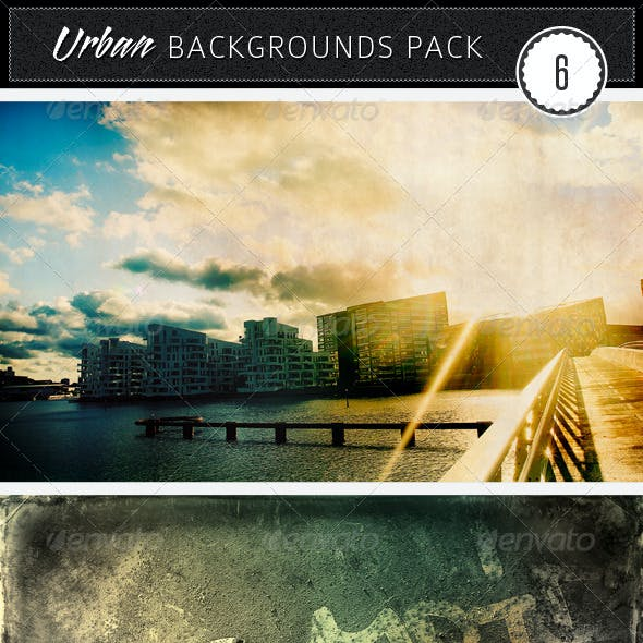 Urban Backgrounds Pack 6