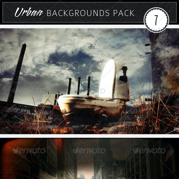 Urban Backgrounds Pack 7