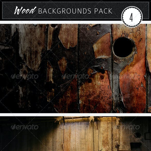 Wood Backgrounds Pack 4