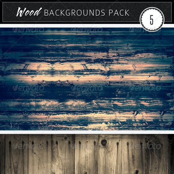 Wood Backgrounds Pack 5
