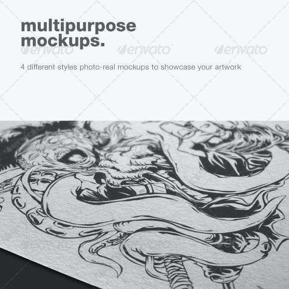 Multipurpose Mockups