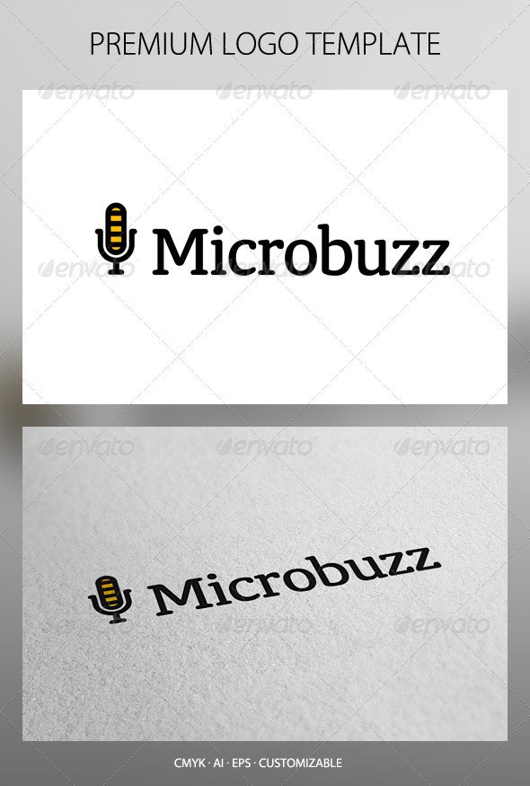 Microbuzz Logo Template - Objects Logo Templates