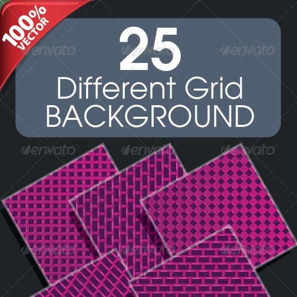 25 Different Grid Background