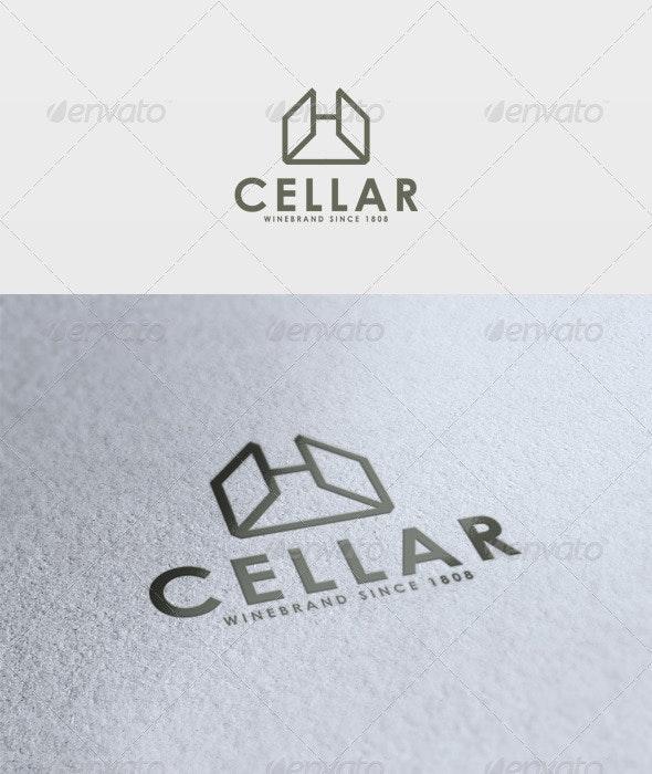 Cellar Logo - Vector Abstract