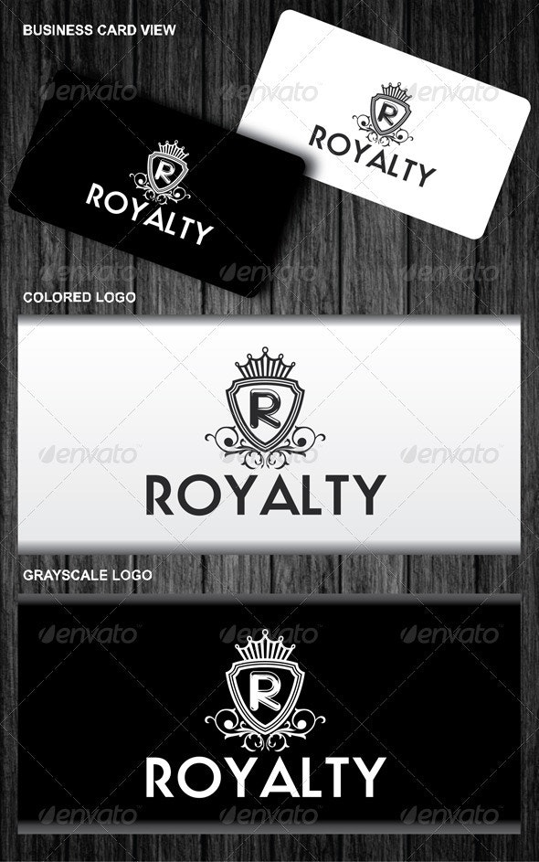Royalty Logo - Letters Logo Templates