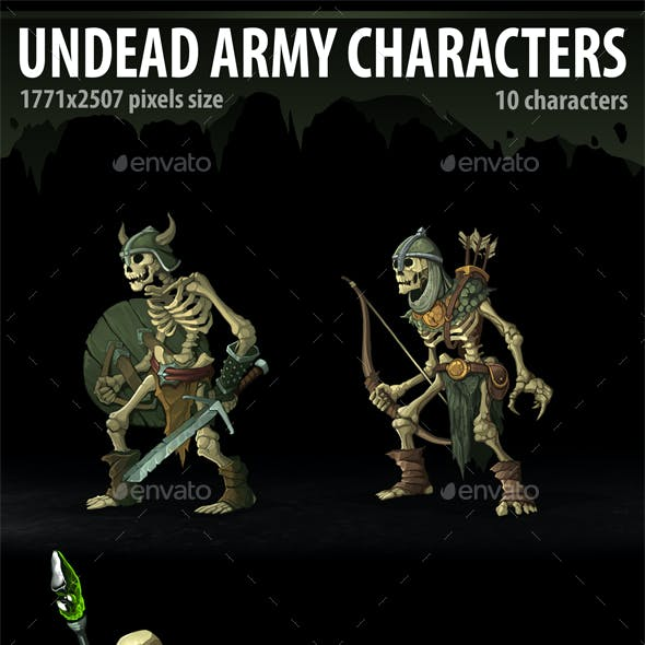 Undead Army Characters