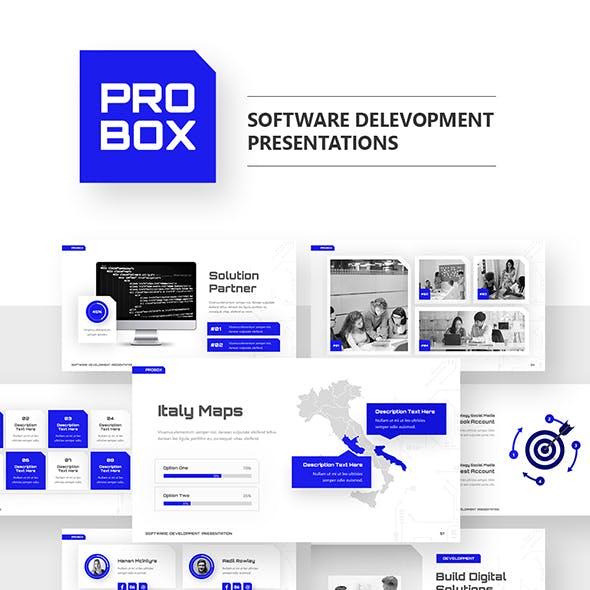 Probox Technology PowerPoint Template