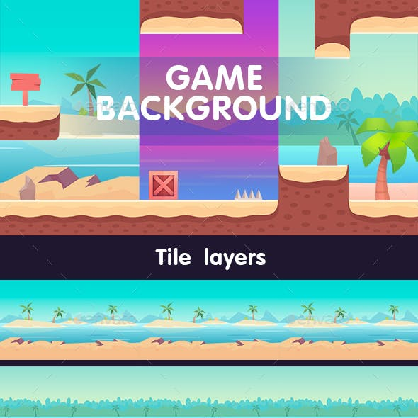 Beach Background Game