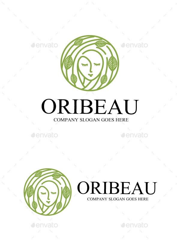 original beauty - Humans Logo Templates