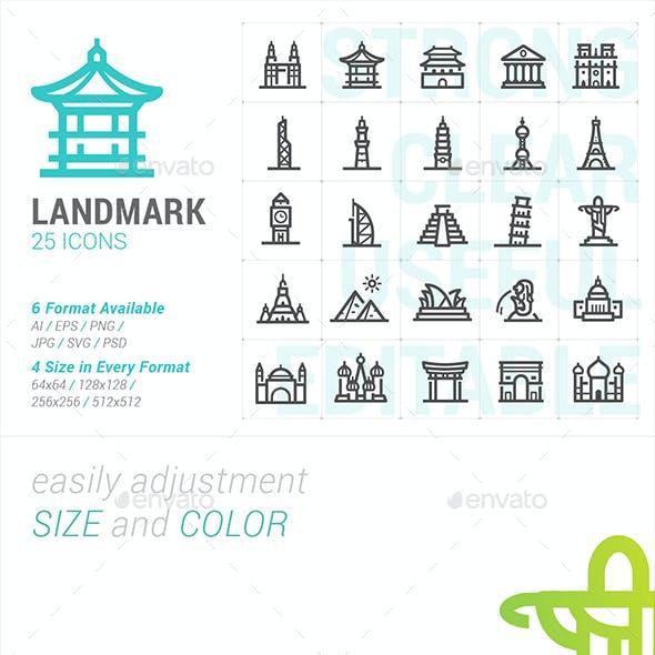 Landmark Mini Icon