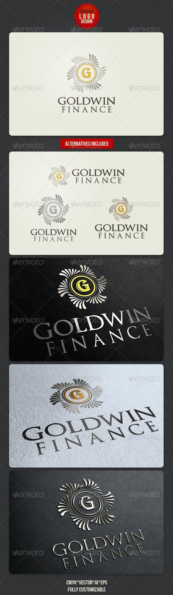 Retro Finance Logo Design - Letters Logo Templates