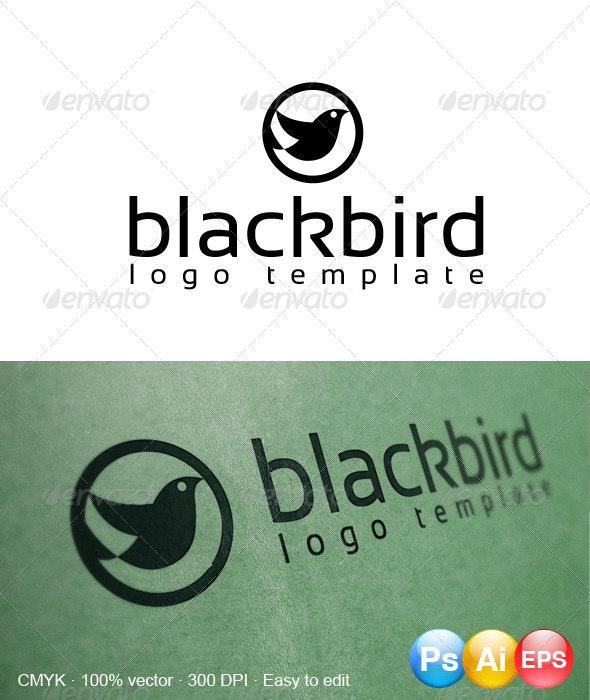 Blackbird Logo - Animals Logo Templates