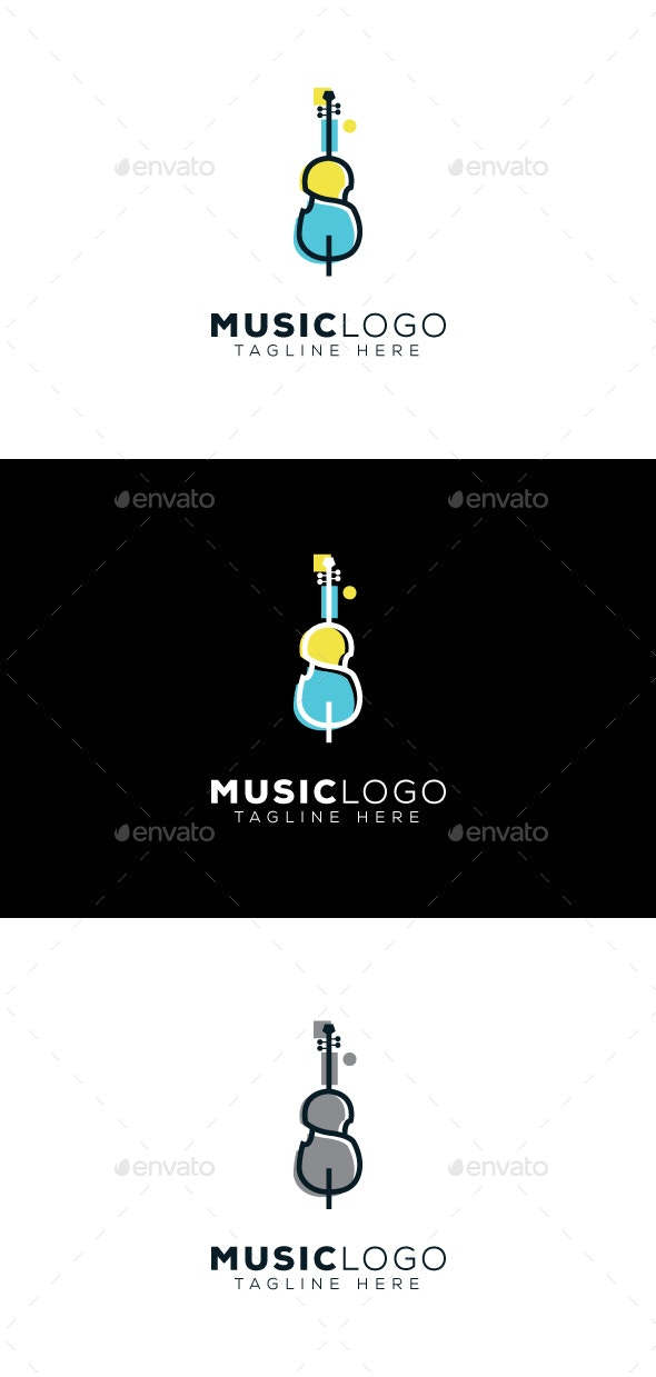 Music Logo - Objects Logo Templates