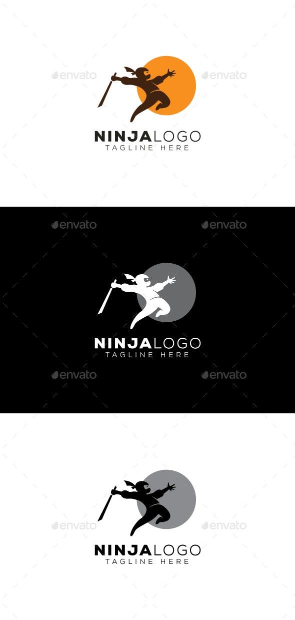 Ninja Logo - Humans Logo Templates