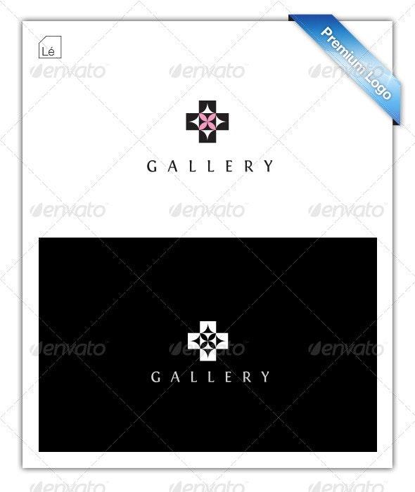 Interior Design Logo - Art Gallery Logo - Cross - Symbols Logo Templates