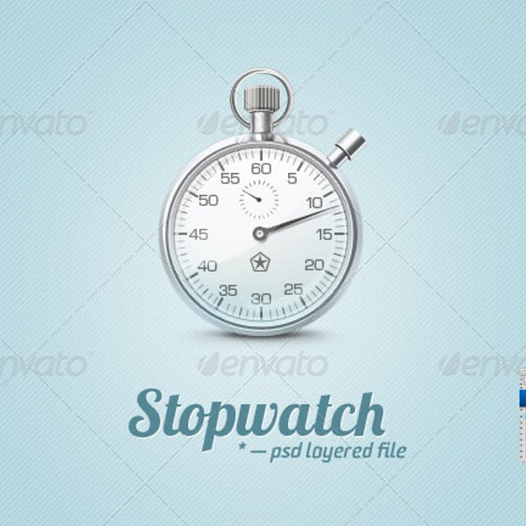 Metal Stopwatch