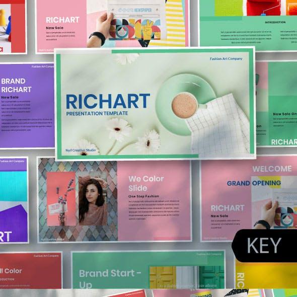 Rechart Creative Keynote Template