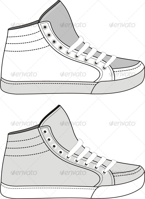 Sports Footwear - Sports/Activity Conceptual