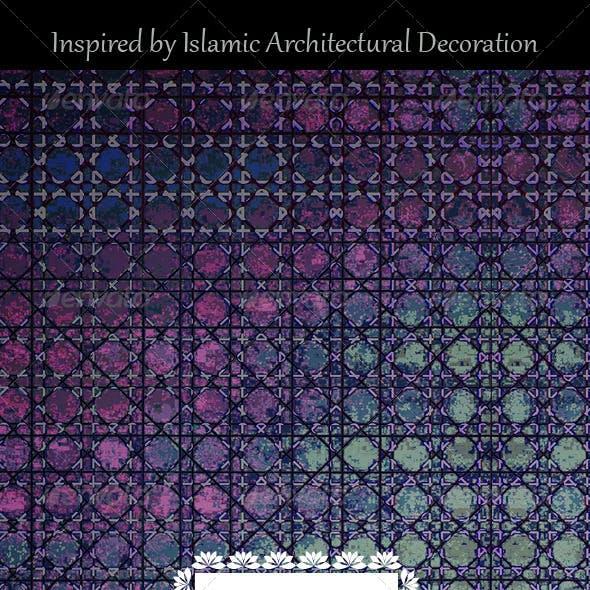 Islamic Style Decorative Background Art