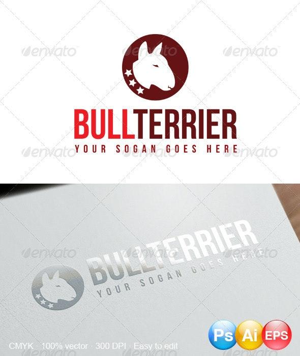 Bullterrier Logo - Animals Logo Templates
