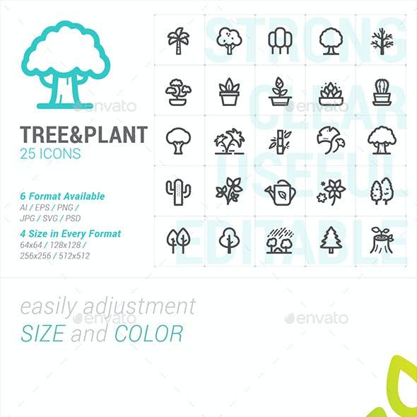 Tree & Plant Mini Icon