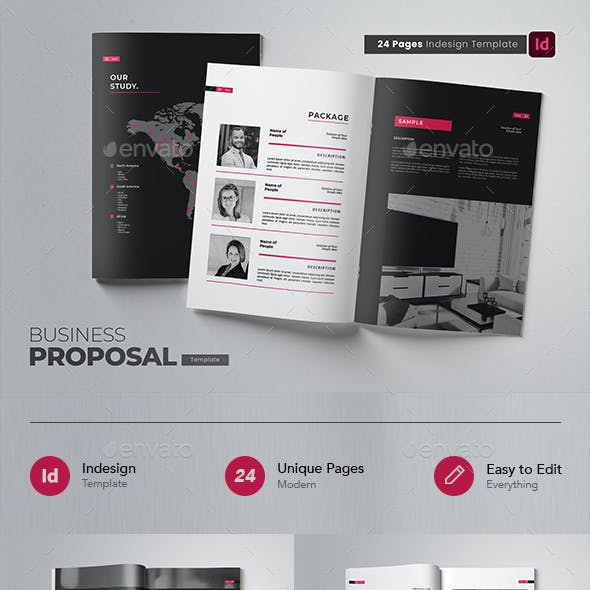 Creative Business Proposal Indesign Template
