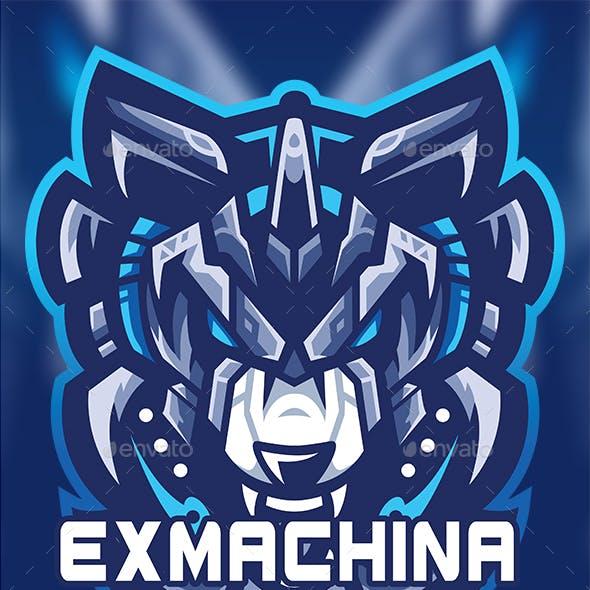 Wolf ex machina esport logo gaming