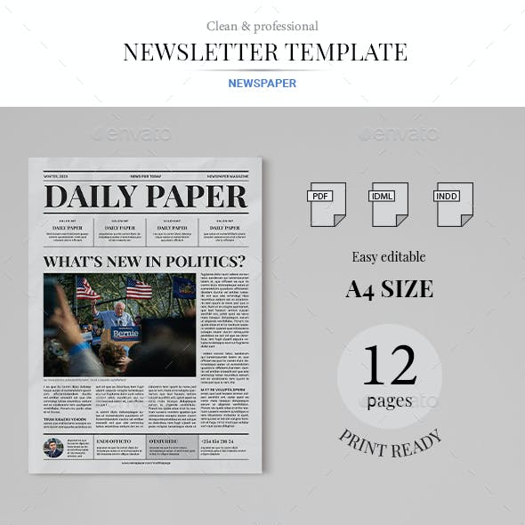 Daily Paper Newsletter