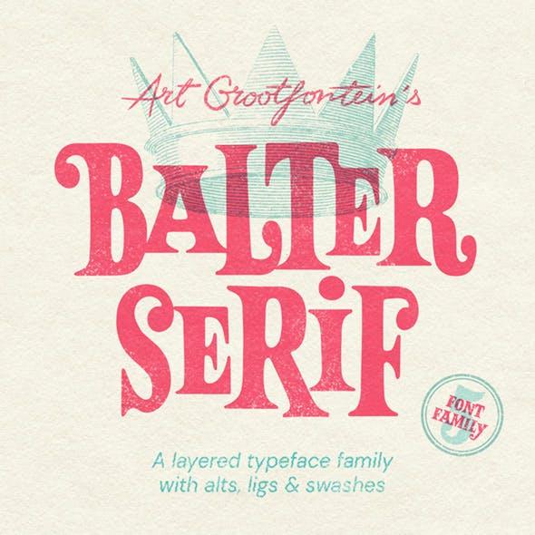 Balter Serif Complete Family